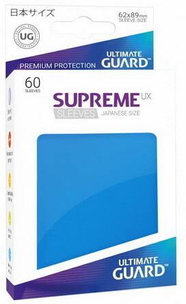 Ultimate Guard - Conf. 60 proteggicards Supreme UX Mini Blu [Royal Blue]