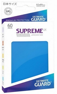 Ultimate Guard - Conf. 60 proteggicards Supreme UX Mini Blu [Royal Blue]