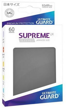 Ultimate Guard - Conf. 60 proteggicards Supreme UX Mini Grigio