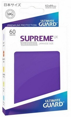 Ultimate Guard - Conf. 60 proteggicards Supreme UX Mini Viola