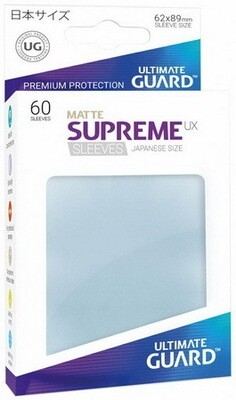 Ultimate Guard - Conf. 60 proteggicards Supreme UX Mini Matte Clear