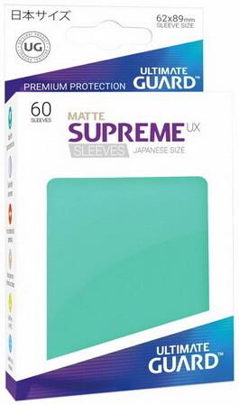 Ultimate Guard - Conf. 60 proteggicards Supreme UX Mini Matte Turchese [Teal]