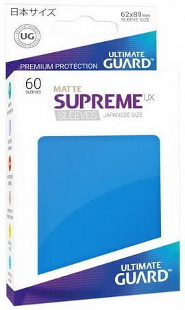 Ultimate Guard - Conf. 60 proteggicards Supreme UX Mini Matte Blu [Royal Blue]