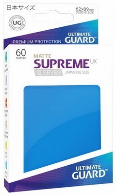 Ultimate Guard - Conf. 60 proteggicards Supreme UX Mini Matte Blu [Royal Blue]
