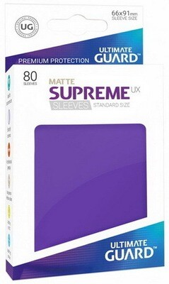 Ultimate Guard - Conf. 60 proteggicards Supreme UX Mini Matte Viola
