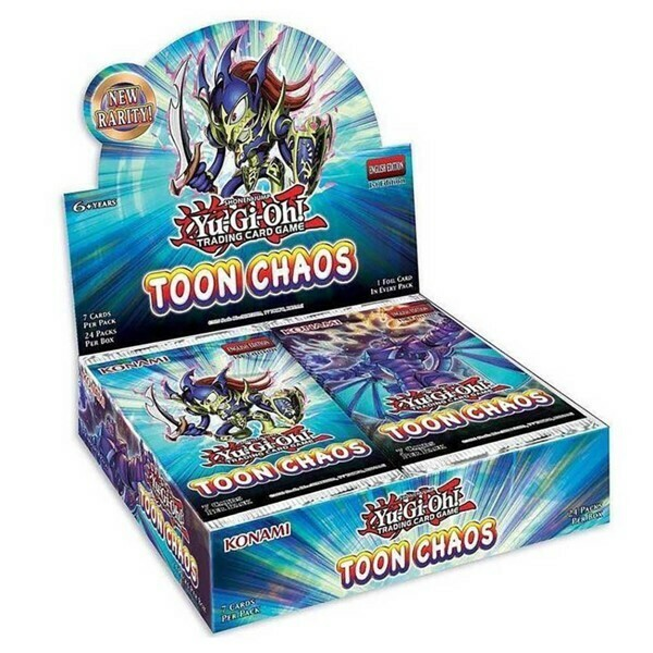 Box YGO Toon Chaos Display 24 buste -spedito dal 18/06