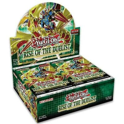 Box YGO Ascesa del Duellante Display 24 buste