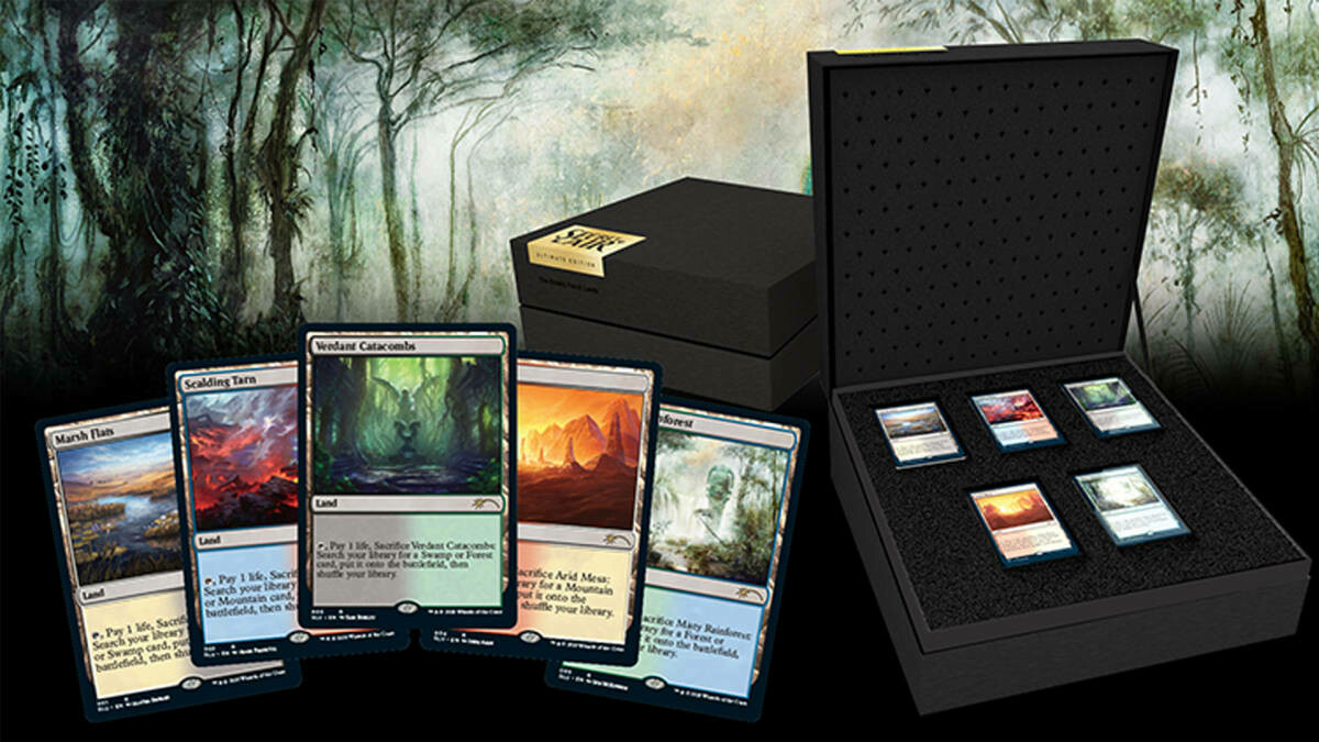 MTG SECRET LAIR-ULTIMATE EDITION-ENGLISH SEALED-MAGIC FETCH-