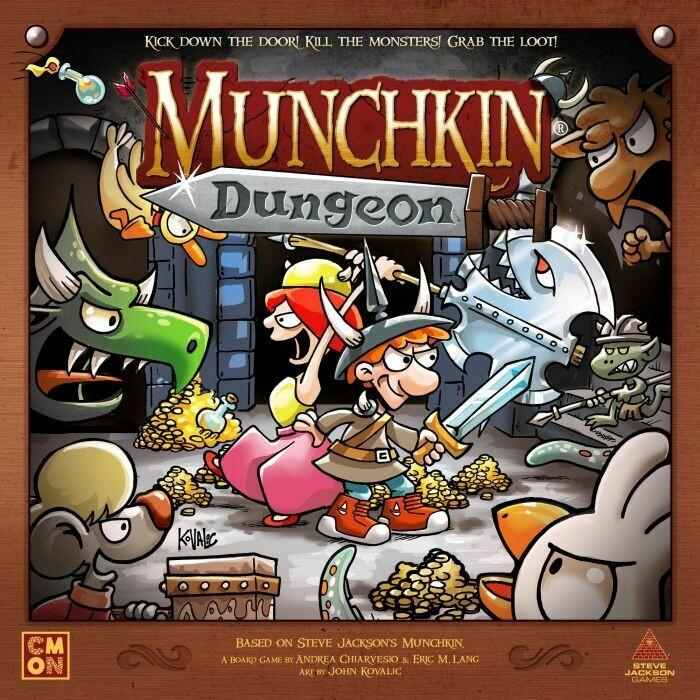 Munchkin - Dungeon -dal 31/07/2020