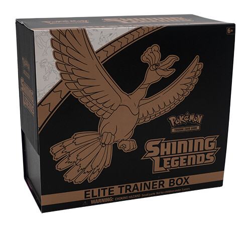 Shining Legends Elite Trainer Box -inglese