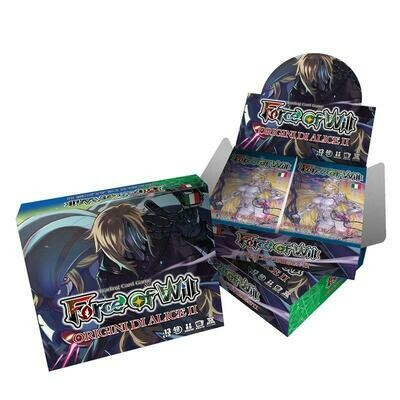 Box FOW Force of Will Origini di Alice II AO02