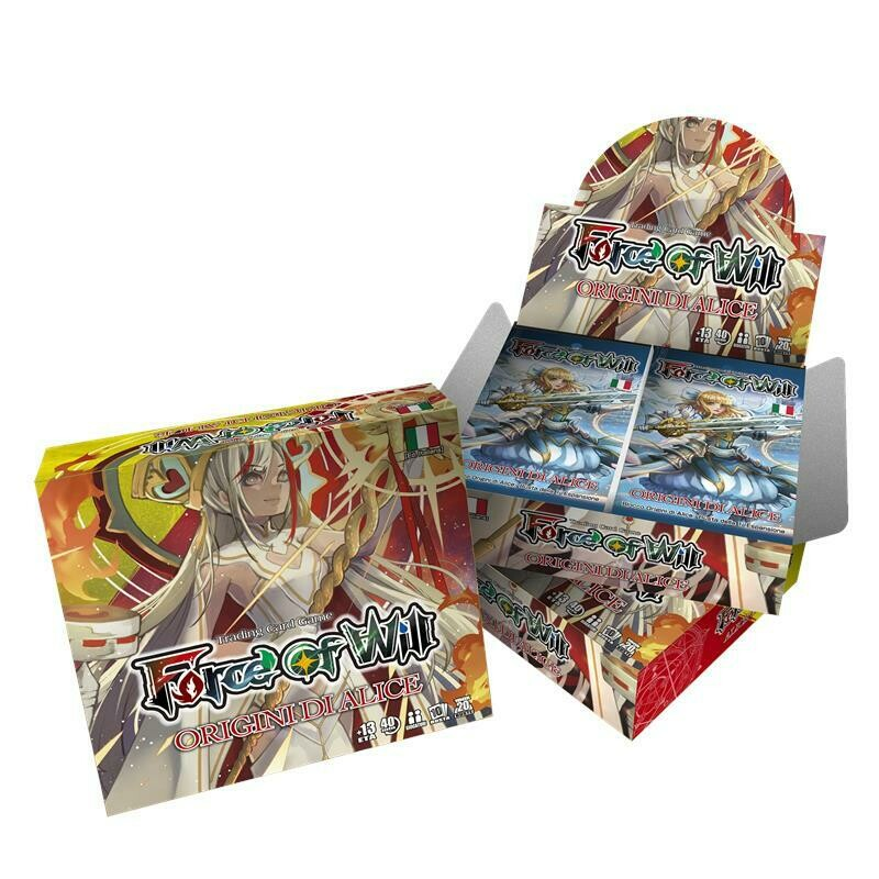 Box FOW Force of Will AO1 Origini di Alice