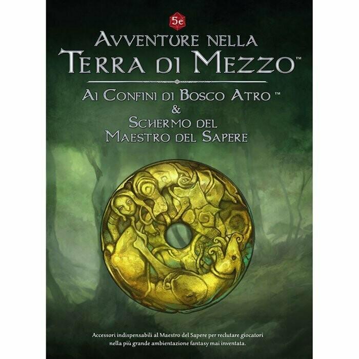 Avventure nella Terra di Mezzo: Ai Confini di Bosco Atro & Schermo del Maestro del Sapere