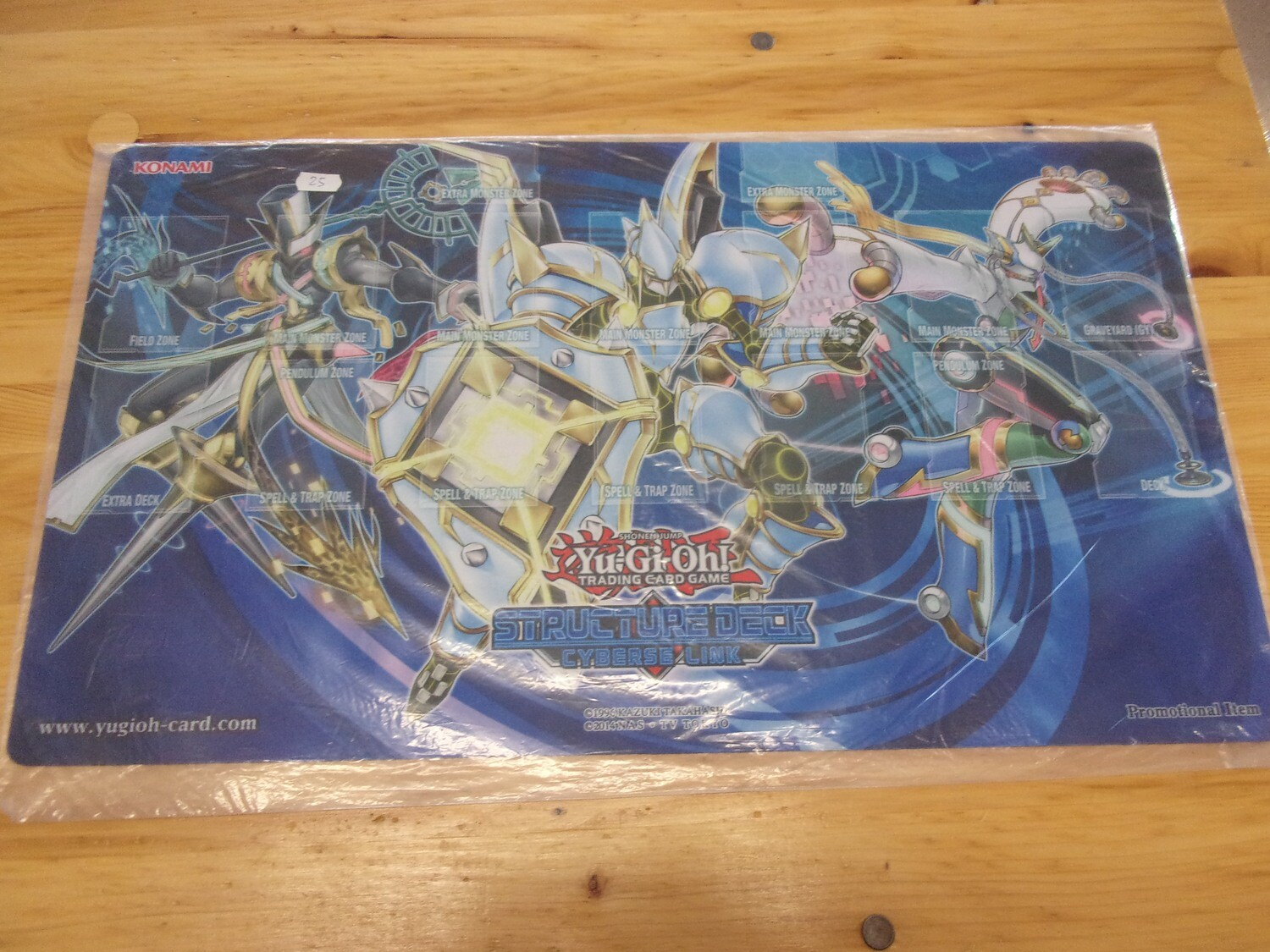 PLAYMAT YGO LINK CYBERSO