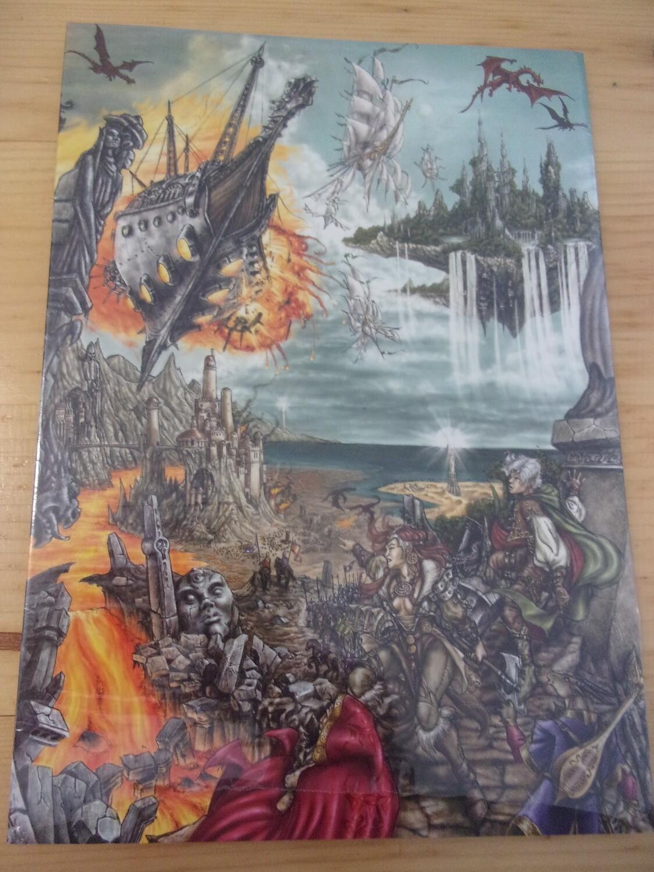 SCHERMO DEL DM DRAGON'S LAIR D&D 3A EDIZIONE