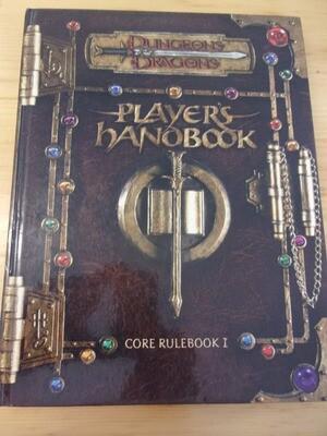 PLAYER HANDBOOK D&D 3.0