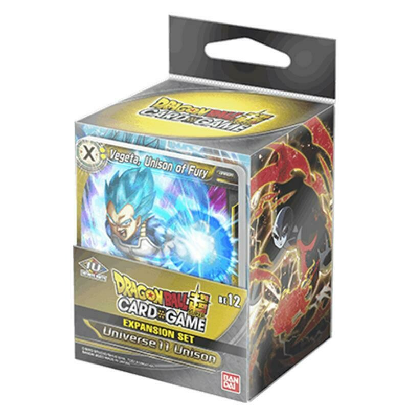 Dragon Ball Super Expansion Set BE12 Universe 11 Unison EN -ENG-