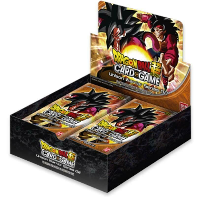 Dragon Ball Super DBS11 Unison Warrior Series Set 2 Box (24 buste)  -ENG- dal 25/09/2020