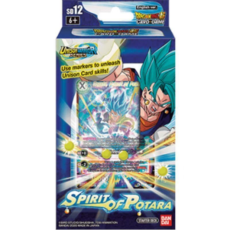 Dragon Ball Super Starter Deck 12 Spirit of Potara -ENG-