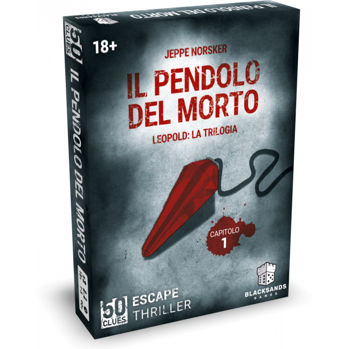 50 Clues - Leopold: 1 Il Pendolo del Morto -dal 31/10/2021