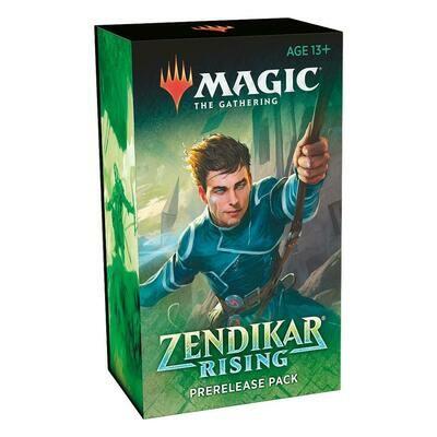 Magic the Gathering Zendikar Rising Prerelease Pack  - ITA -dal 25/09