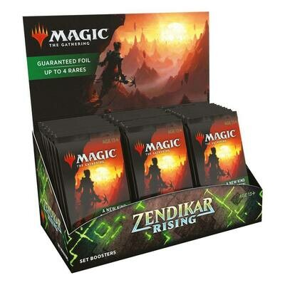 Magic the Gathering Zendikar Rising Set Booster Display (30) english