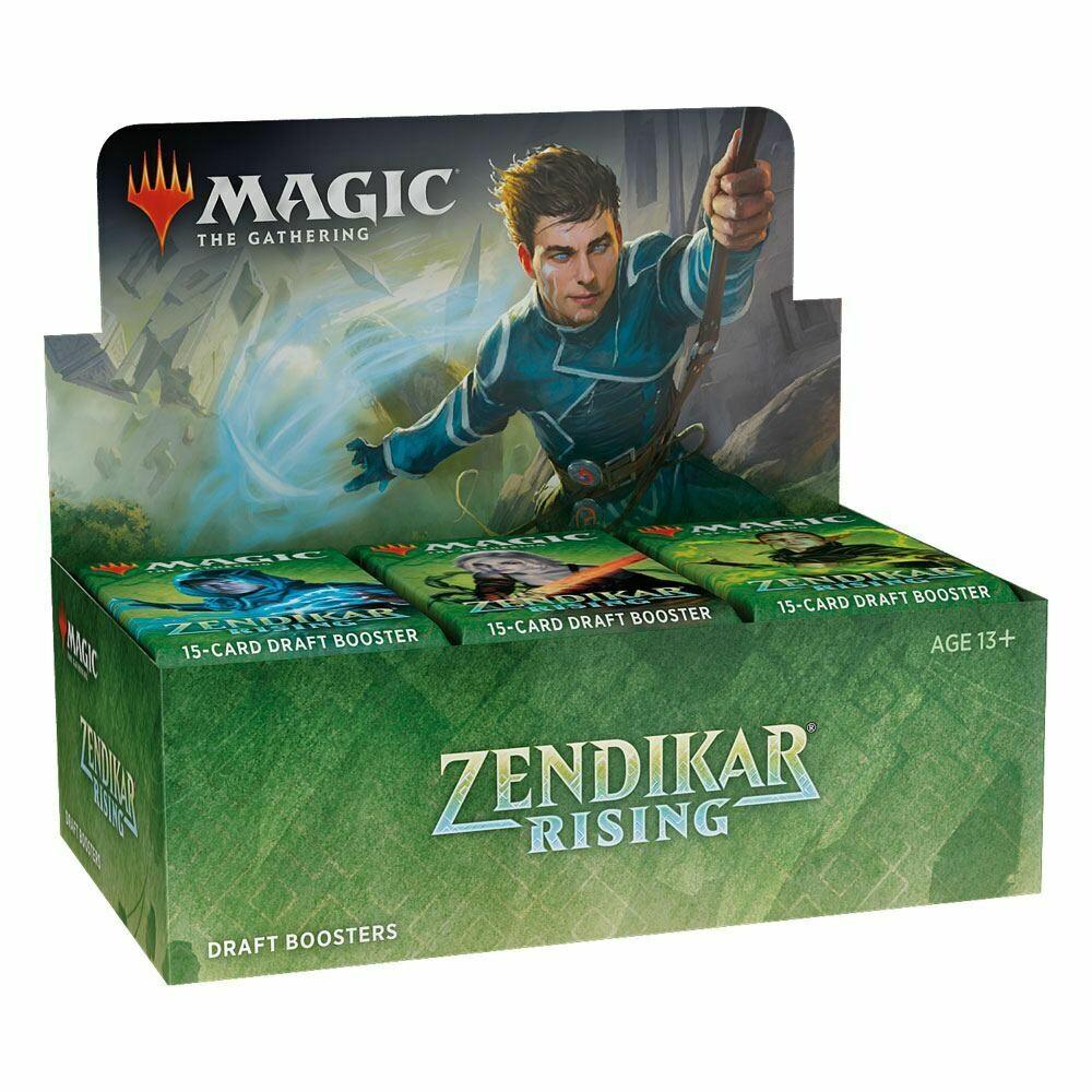 Magic the Gathering Zendikar Rising Draft Booster Display - ITA o ENG