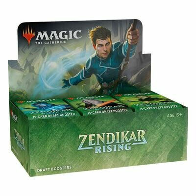 Magic the Gathering Zendikar Rising Draft Booster Display - ITA o ENG