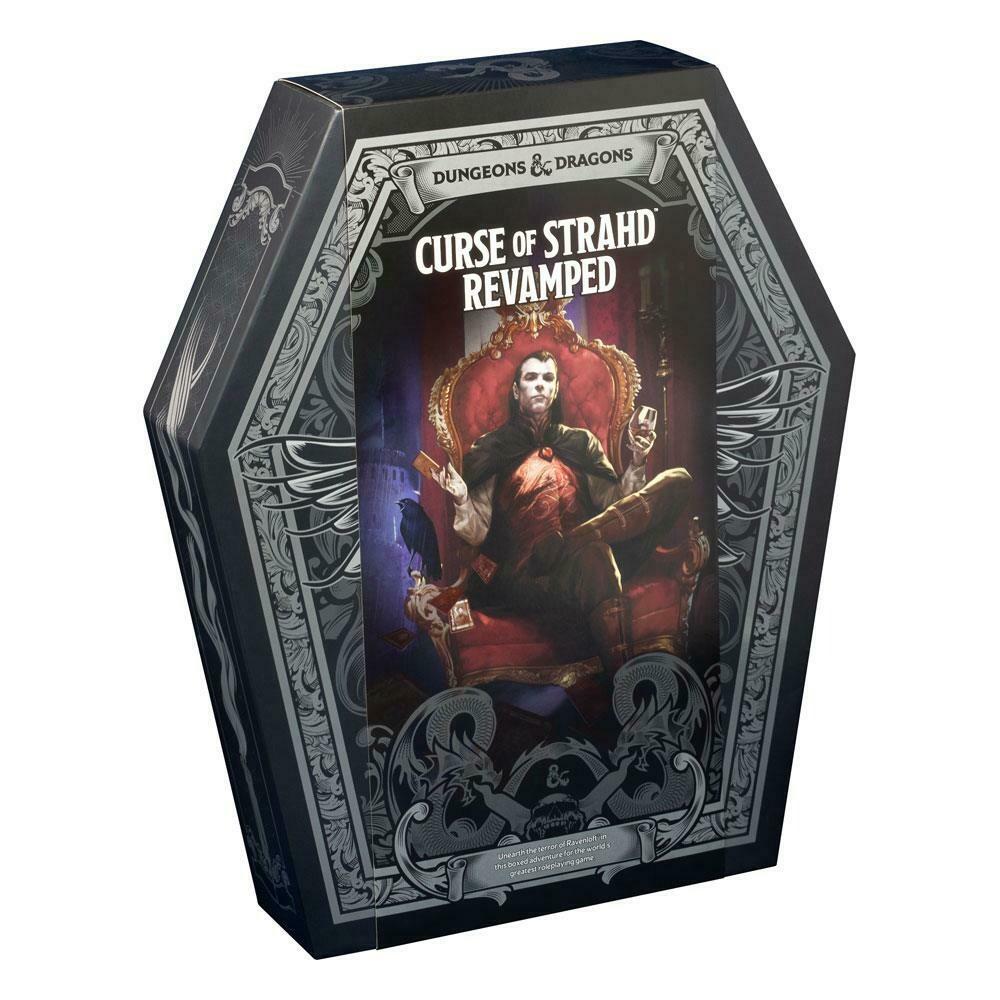 Dungeons & Dragons RPG Box Set Curse of Strahd: Revamped english -dal 15/10/2020