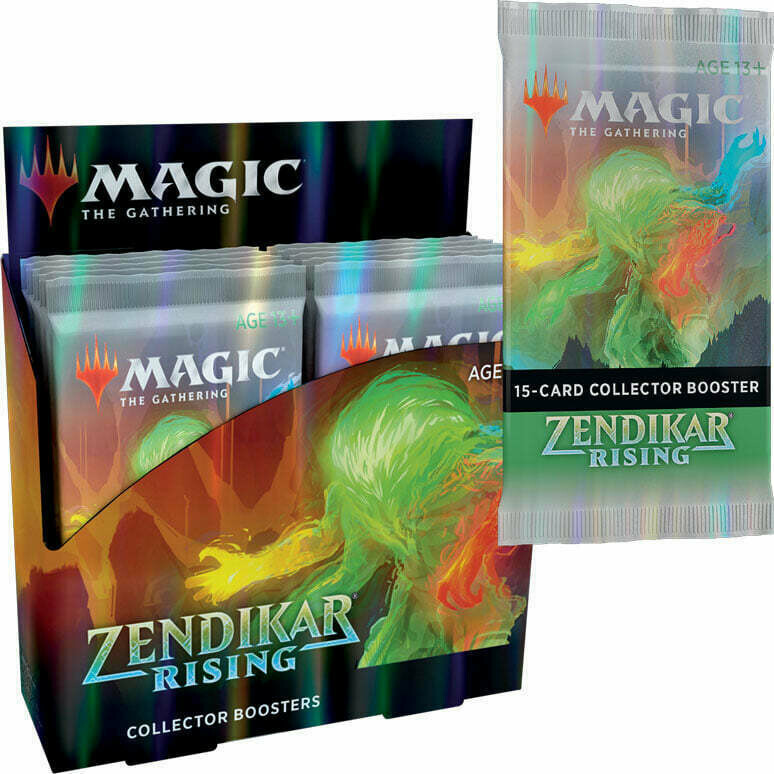 Zendikar Rising Collector Booster Box ENG -dal 25/09