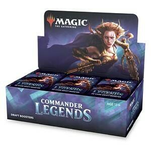 Commander legends Booster Box -ITA/ENG