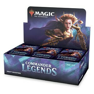 Commander legends Booster Box -ITA/ENG