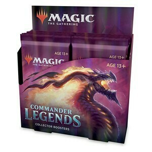Commander legends Collector Booster Box -ENG