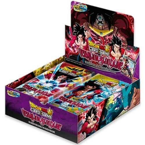 Dragon Ball Union Warrior Series Set 2 Vermillion Bloodline box 24 buste -eng-