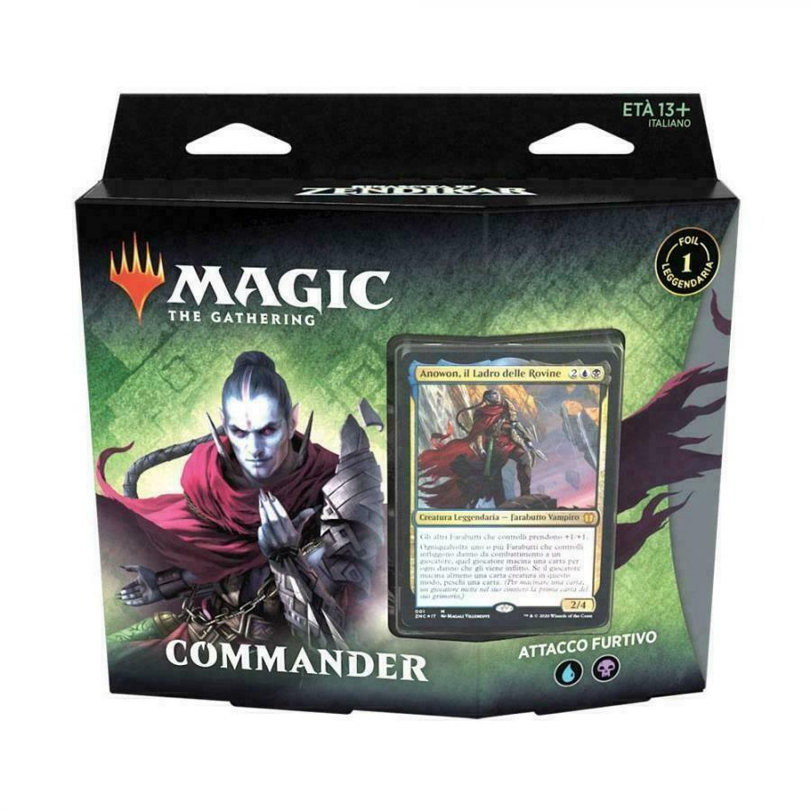 Magic Commander Rinascita di Zendikar -Attacco Furtivo