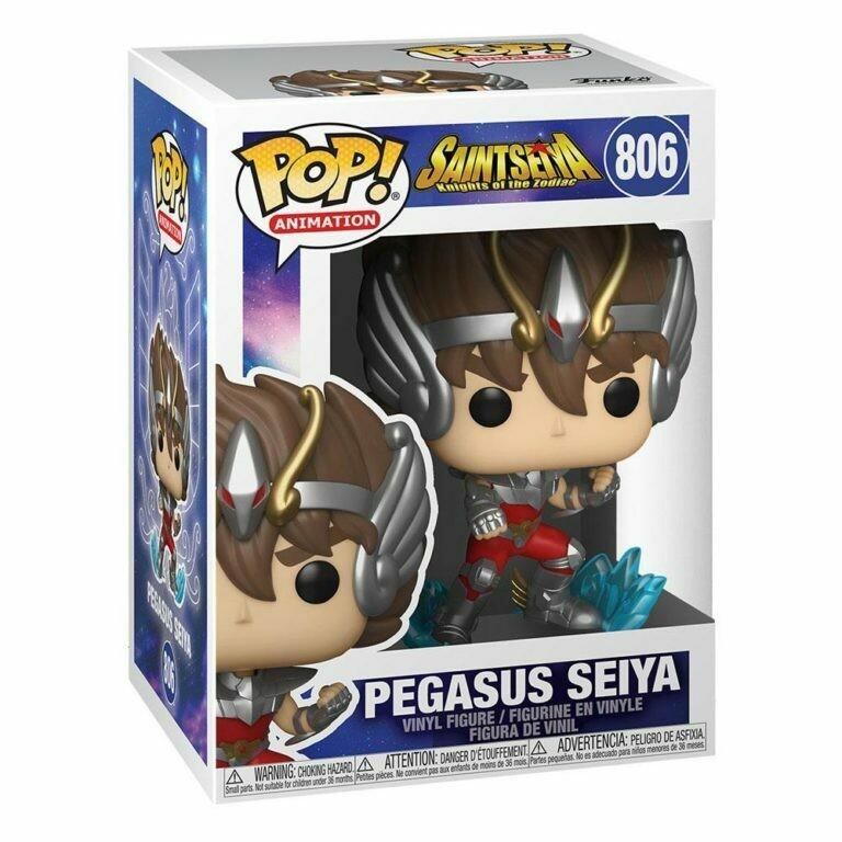 Saint Seya POP! Animation Vinyl Figure Pegasus Seiya 9 cm