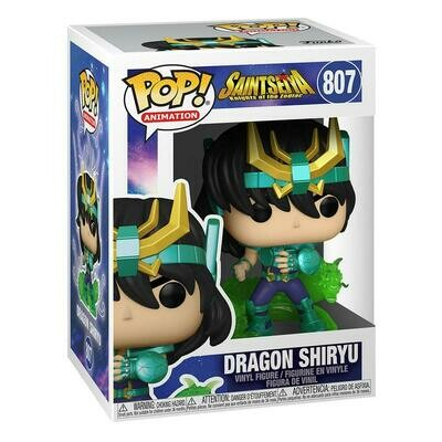 Saint Seya POP! Animation Vinyl Figure Dragon Shiryu 9 cm