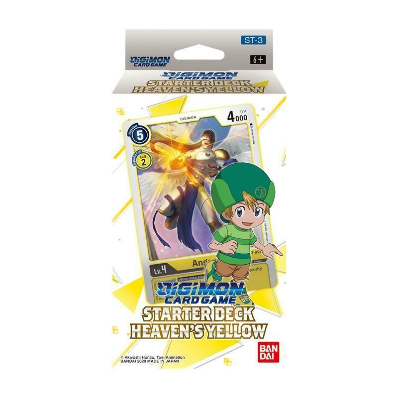 Starter Deck Digimon Card Game ST-3 Heaven's Yellow -ENG- dal 29/01/2021