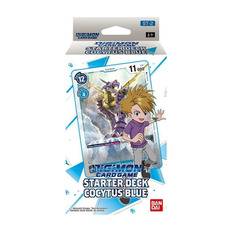 Starter Deck Digimon Card Game ST-2 Cocytus Blue -ENG- dal 29/01/2021