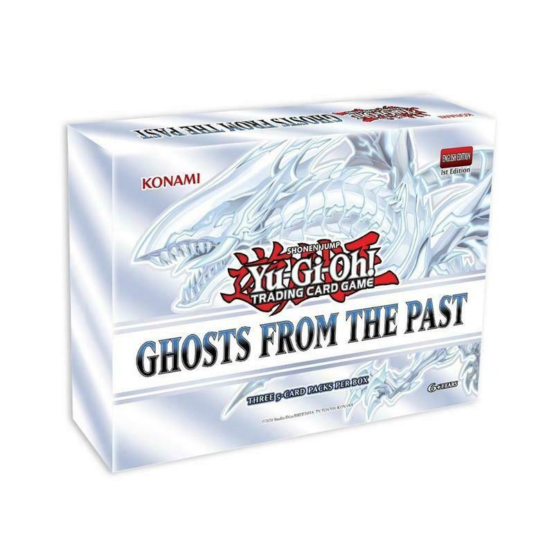 YGO Fantasmi dal Passato Collector's Set  Box da 5 pezzi -ITA- dal 15/04/2021