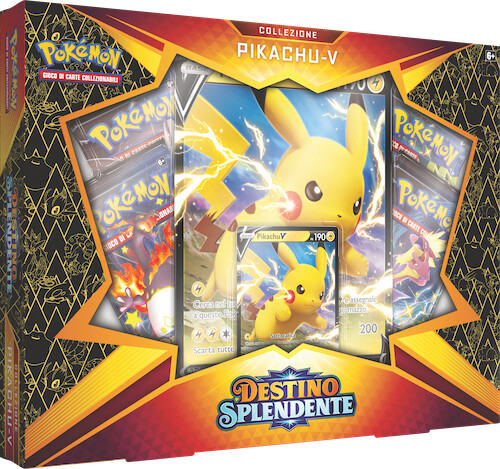Spada e Scudo 4.5 Destino Splendente Collezione Pikachu-V -dal 19/02/2021
