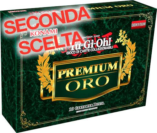 Yu-Gi-Oh! Premium Oro 1a edizione pacchetto con busta 10 carte