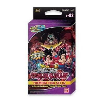Dragon Ball Super Premium Pack Vermilion Bloodline
