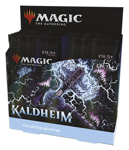 Kaldheim Collector Booster display 12 buste -ITA -