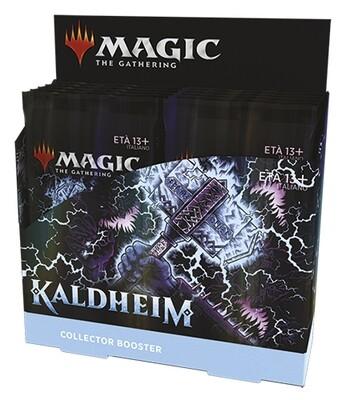 Kaldheim Collector Booster display 12 buste --ITA -dal 05/02/2021
