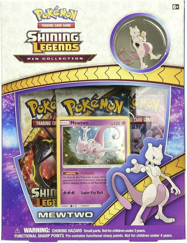 Shining Legends Mewtwo Pin Collection  -ENG-