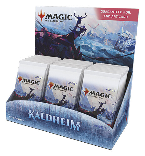 Kaldheim Set Booster display 30 buste -ENG -