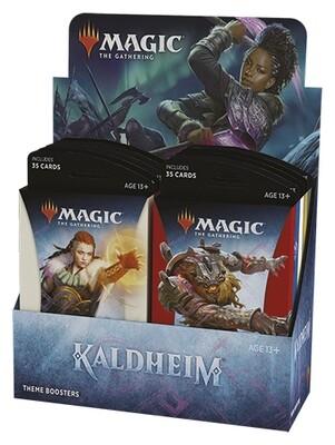 Magic Kaldheim Theme Booster display 12 mazzi -ENG -dal 05/02/2021