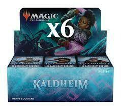 Kaldheim Draft Case (6 X display 36 buste) -ENG -dal 05/02/2021