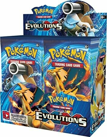 Evoluzioni XY booster Box 36 buste - ENG-